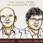 جایزه نوبل شیمی در سال 2021 به دیوید مامیلان و بنیامین لیست تعلق گرفت