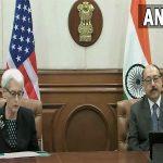 وندی شرمن ، معاون وزیر خارجه ایالات متحده بر همکاری و تفاهم ایالات متحده و هند تاکید می کند